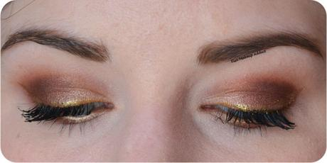 Bronze & Gold Makeup with Modern Renaissance {Anastasia Beverly Hills}