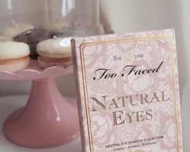 La palette parfaite par Too Faced – Natural Eyes