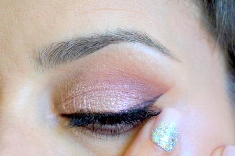 Kiss beauty Challenge - Maquillage Glitter