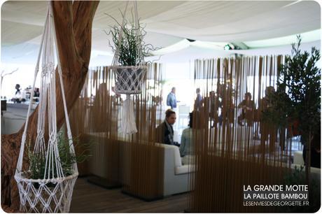 La Paillote Bambou à la Grande Motte