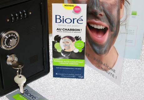 Le masque auto-chauffant de Bioré ! Un masque qui en vaut le détour !