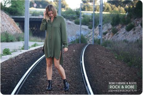 Rock & Robe chemise kaki !