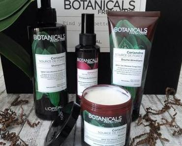 J'ai testé Botanicals Fresh Care, la gamme à tendance Green de L'Oréal!