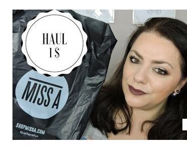 Haul Shop Miss A : tout à 1$