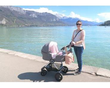 Vlog : shooting photo et sortie poussette au lac d'Annecy