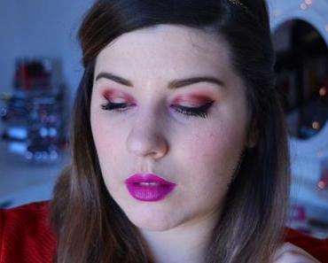 Fuchsia and Gold Makeup for Spring {Modern Renaissance}