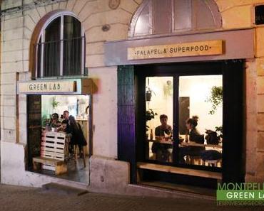 Repas végétarien au Green Lab à Montpellier