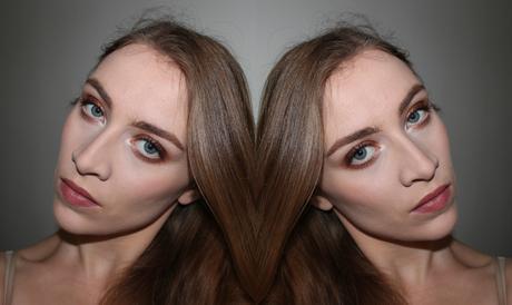 Makeup cuivré