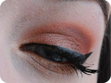 Warm Orange Makeup {Modern Renaissance}