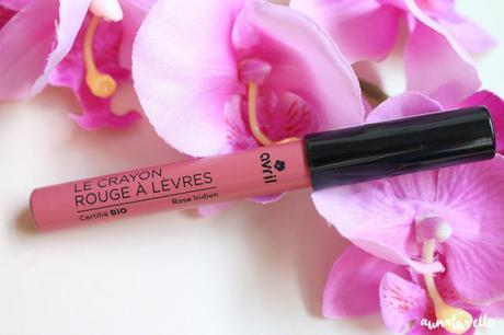 crayon lèvres bio avril