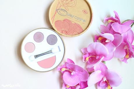 palette teint et yeux couleur caramel