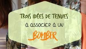Trois idées tenues associer bomber