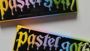 Palette Pastel Goth couleur, veux-tu voilà