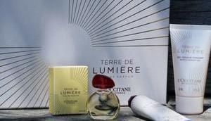Terre Lumière nouveau parfum L'Occitane*