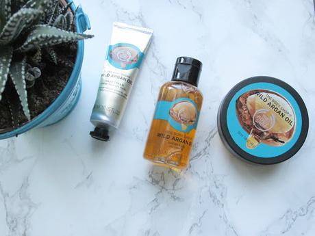 Trousse de voyage The Body Shop à l'huile d'argan