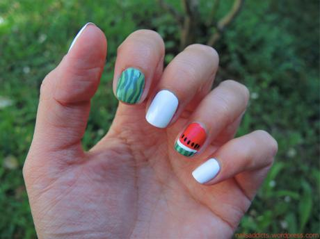 🍉 Watermelon nail art 🍉