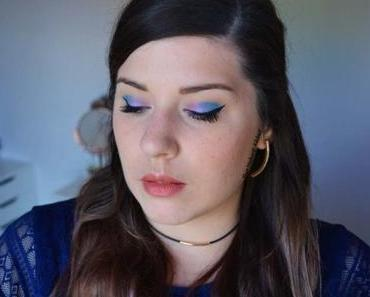 Blue & Pink Makeup with Pastel Goth