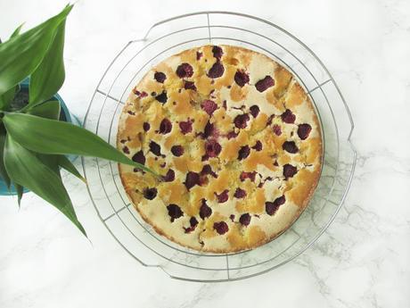 Recette de gâteau moelleux Framboise/Citron (Sans Gluten)