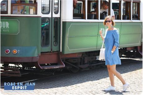Ma petite robe en jean à Lisbonne !