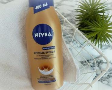 J'ai testé le lait nourrissant bronzage progressif Nivea