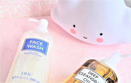 Le nettoyant Face Wash de DHC, complément idéal de l'huile démaquillante... et même plus !
