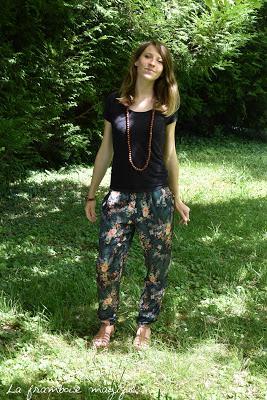 [MODE] Pantalon fleuri, version casual