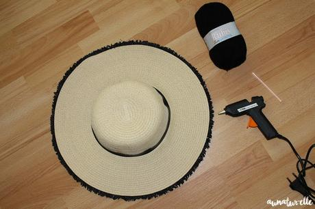 customiser chapeau de paille