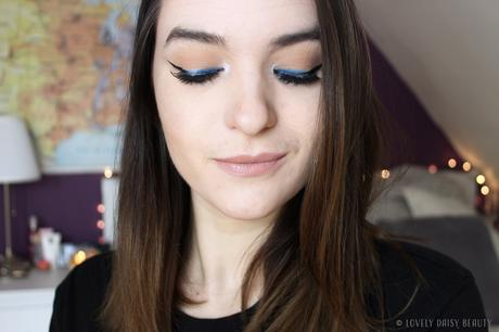 Black 'n Blue Liner | Monday Shadow Challenge