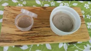 La pierre d'argile de la Station gourmande de Farnham – Atelier du 8 juillet