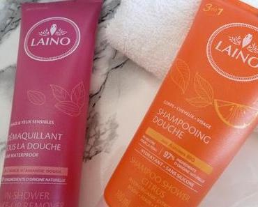 Sous la douche avec Laino