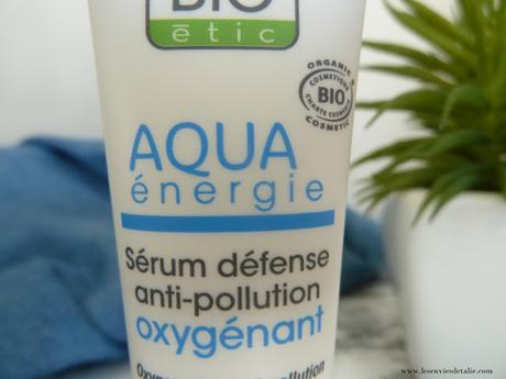 Sérum Aqua Energie So'Bio Etic, une bouffée d'air pur