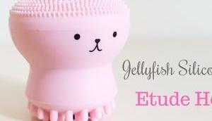 Jellyfish Silicon Brush Etude House brosse visage Kawaii étonnante