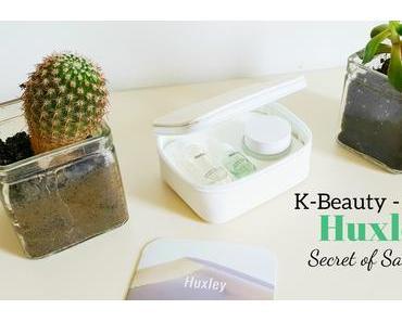 K-Beauty - Découverte de la Luxueuse marque Huxley au Cactus !