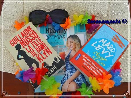 Mes 3 lectures de l'été ou les 3 livres que j'emmène à la plage avec moi !