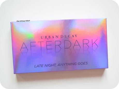 Palette Afterdark d'Urban Decay : la jolie palette holo !