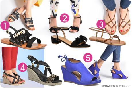 10 idées de chaussures d'été !*