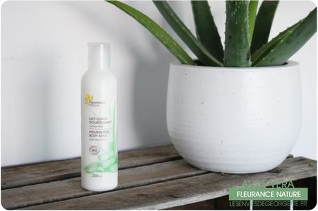 La gamme Aloe Vera de Fleurance Nature
