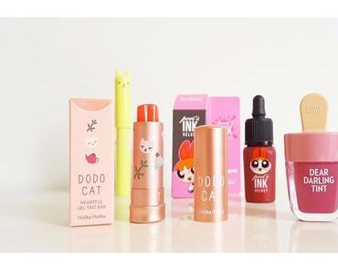 Korean Beauty - Ces Lipsticks et Tints tellement mignons !