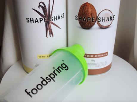 j ai test les shape shakes foodspring. Black Bedroom Furniture Sets. Home Design Ideas