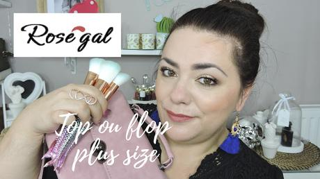 Haul Rosegal top ou flop (plus size)