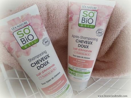 Des cheveux soyeux et légers avec la gamme Cheveux Doux So'Bio Etic