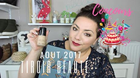 Tiroir beauté d'aout 2017 + concours tout le mois de septembre