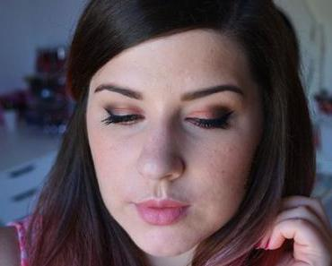 Warm ROSEGOLD MAKEUP {Naked Heat}