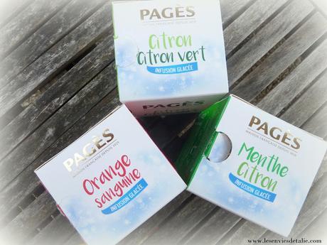 Ma boisson de l'été, les infusions glacées Pagès