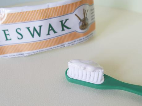 dentifrice bio meswak