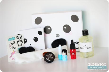 la Panda Box : l'édition très limitée de Glossybox