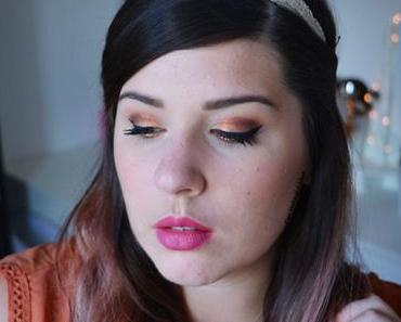 COPPER MAKEUP with HUDA BEAUTY Rose Gold Palette