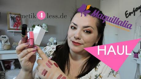 Haul Maquillalia et Kosmetik4lesd