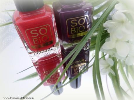Vernis à ongles Natural So'Bio Etic, top ou flop ?
