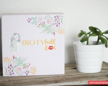 Biotyfull Box de septembre : la détox !